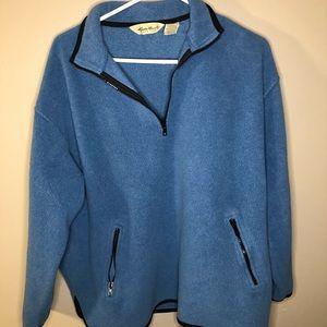 Vintage Eddie Bauer Women's Large Fleece Pullover